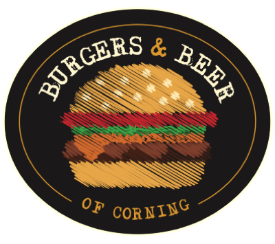Burgers Beer Corning Logo